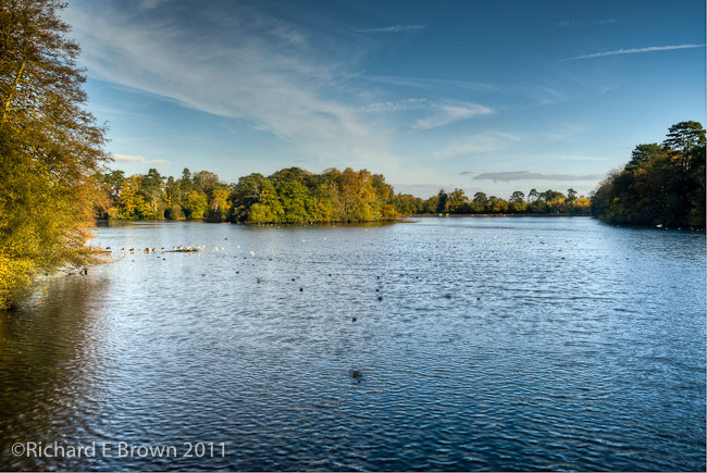 Hartsholme Lake - SLR - HDR