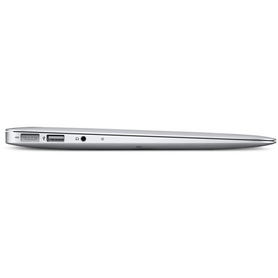 Macbook Air in profile -closed