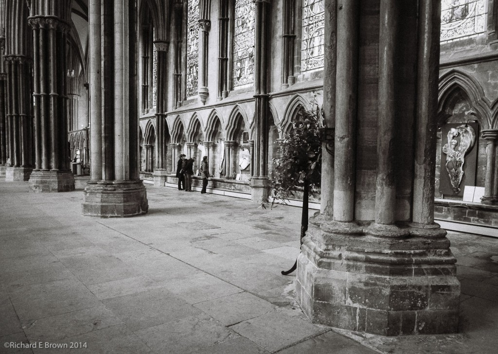 Leica M4 50mm Summicron, Ilford Delta 400 - Cathedral Art