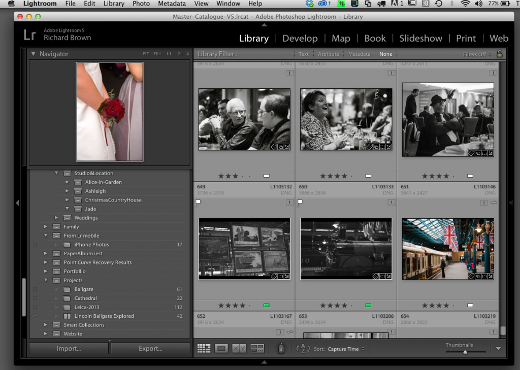 Lightroom V5
