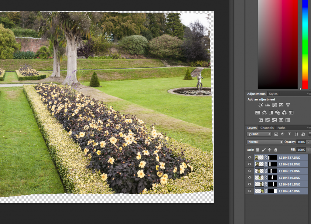 Pano Layers in Photoshop