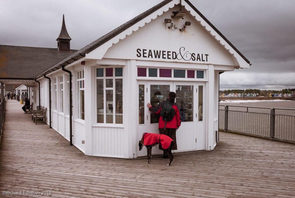 Southwold Pier with Caroline & Timmy