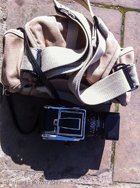 Hasselblad in the Bag
