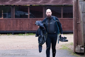 Andrew in a Wetsuit