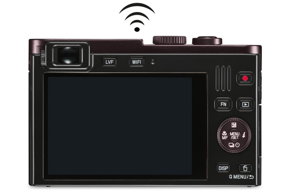 Leica C Compact with a Viewfinder