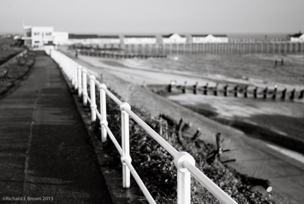 Southwold Pier - BW