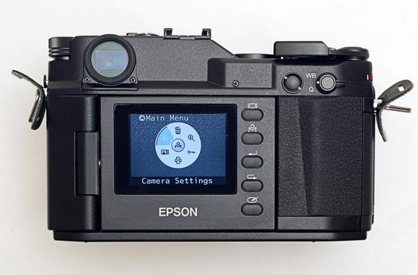 Epson Range Finder Rear Screen