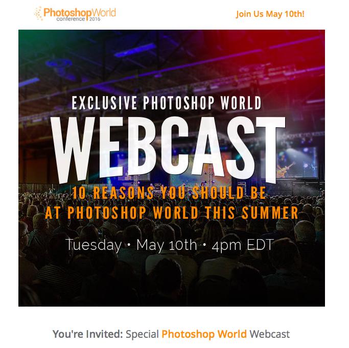 Photoshop World Webcast